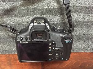 Canon Rebel T1i with extras