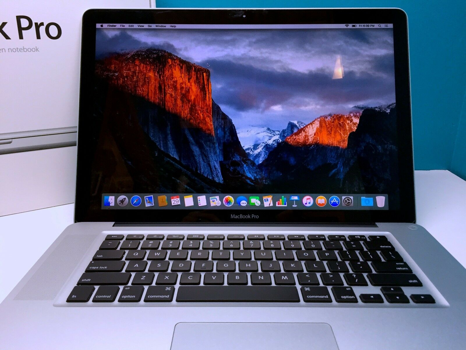"Macbook Pro - MacBook Pro 15"" Pre-Retina *3 YEAR WARRANTY* Core i7 2.0 / 16GB / 1TB / OSX-2017"