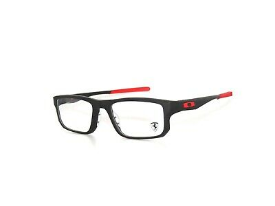 Oakley Voltage 8049-07 53 Satin Black Ferrari Authentic Eyeglasses