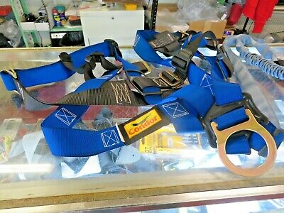 Condor Universal Fall Protection Kit With Lanyard Harness 35ku70