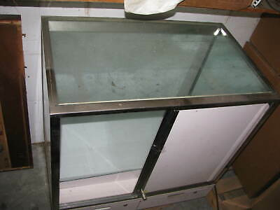Store Retail Glass Display Case Fixture Furniture - Used Decent Condition