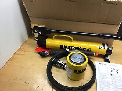 Enerpac Rcs302 P39 Pumplow Height Hydraulic Cylinder Set 30 Ton Very Nice