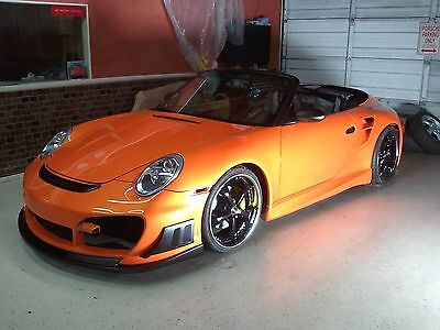 Porsche 911 996 to 997 Turbo GTS RS EVO update converson widebody kit NEW