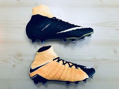 reputable site 99f1b 41d21 Nike Hypervenom Phantom III 3 FG Black Orange Soccer Cleat Size (8.5) 860643 -