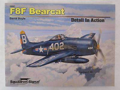 Squadron/Signal Book - F8F Bearcat Detail in Action #39007 SC for sale  Gettysburg
