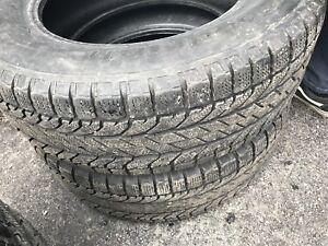 Goodrich 245 65 r17 winter tires good for summer as well