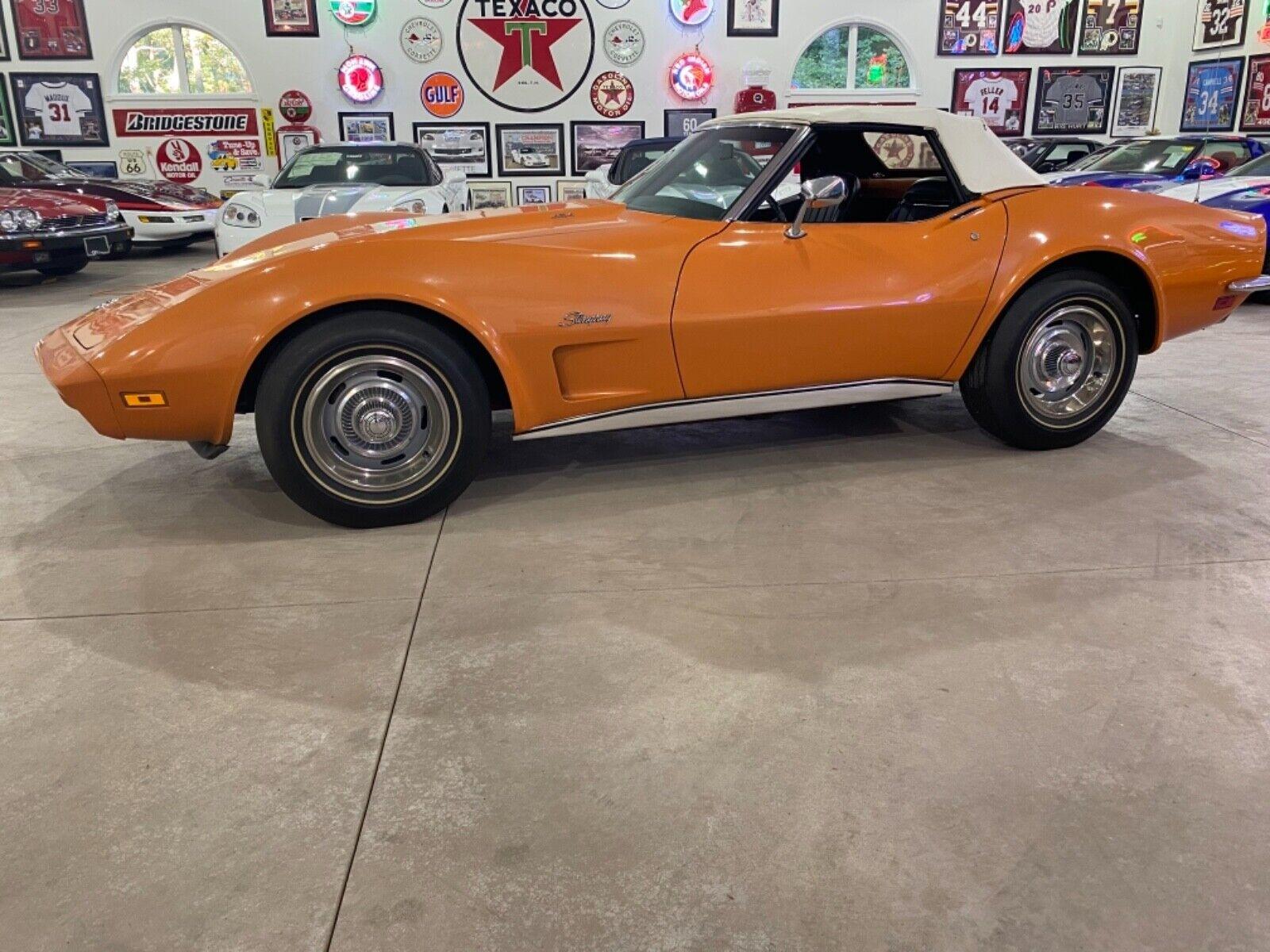 1973 Orange Chevrolet Corvette   | C3 Corvette Photo 1