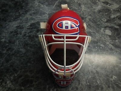 1 montreal canadiens mini goalie mask w no box