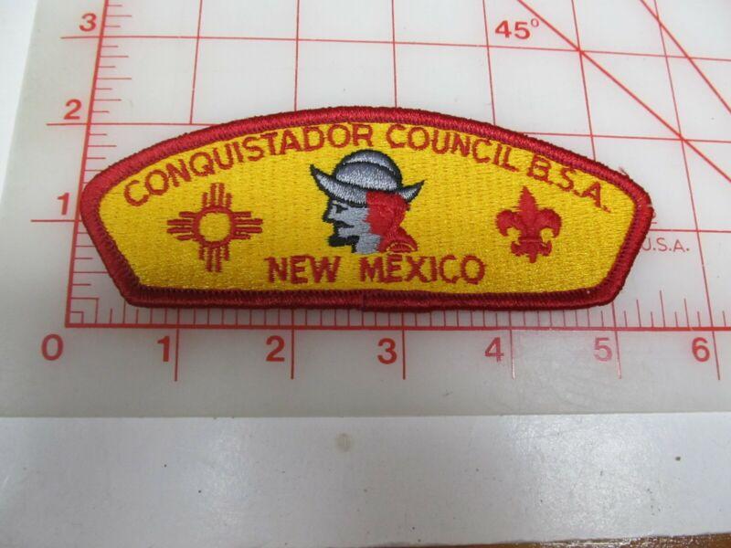 Conquistador Council CSP collectible PB patch (o34)
