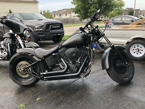 2008 custom Harley softtail bobber