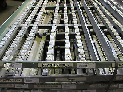 GAUER RTA CARTON GRAVITY FLOW SHELVING PALLET RACKING **WE SHIP FREIGHT**  Carton Flow Shelving