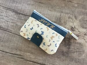 Handmade Diaperclutch with embroidery