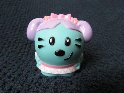 """2008 Wow Wow Wubbzy DAISY 2 1/2"""" plastic rubber toy Mattel Bolder Starz media"""
