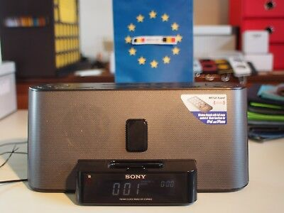 Sony Speaker Dock/Clock Radio for iPod and iPhone n2