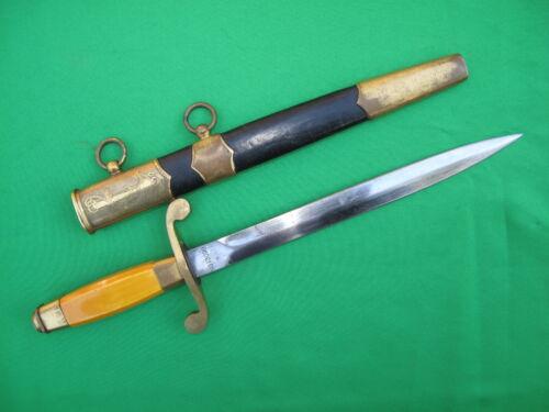 Rare Russian WW2 M1940 Navy Dagger Knife 1944