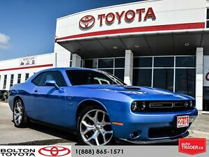 2016 Dodge Challenger R/T ACCIDENT FREE|NAVIGATION|B5 BLUE