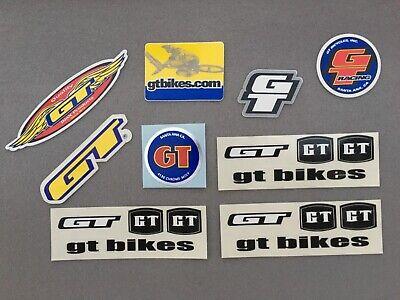 GT BIKES BMX TEAM STICKER SHEET Mach 1 Voelker Bestwick No Fear Hot Wheels vert
