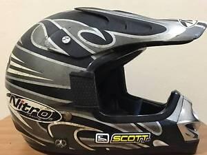 """Scott"" Nitro MX 410 Junior Nitro MX 410 Kids Motocross Helmet North Parramatta Parramatta Area Preview"