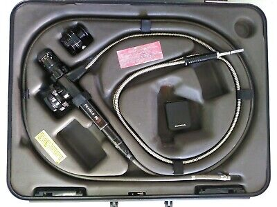 Olympus Industrial Fiberscope If11d4-20 In Original Hard Case With A80s Adapter