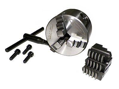 3 3 Inch 3-jaw Lathe Chuck Precision Self Centering Semi-steel