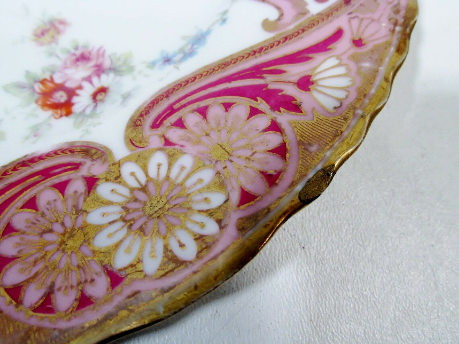 Aesthetic Period Theodore HAVILAND Limoges Victorian 9 Plate Victorian - $49.99