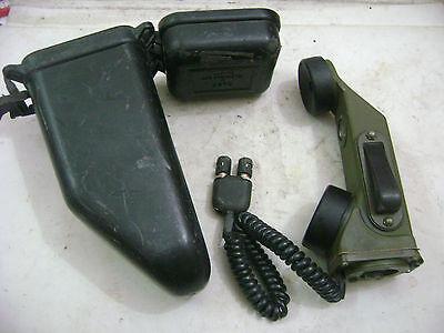 Military Vietnam era Jeep M38 hand set radio telephone TA-1/PT Signal Corp, used for sale  Sachse