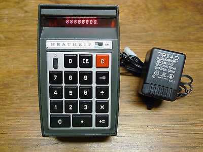 HEATHKIT IC-2009 RARE VINTAGE CALCULATOR WORKS PERFECTLY