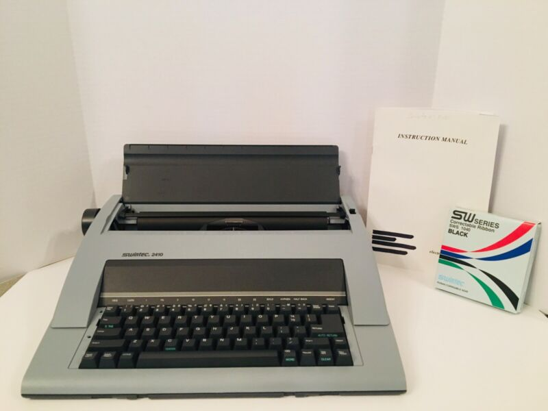 Swintec 2410 Electric Typewriter *MINT CONDITION*WORKS GREAT!