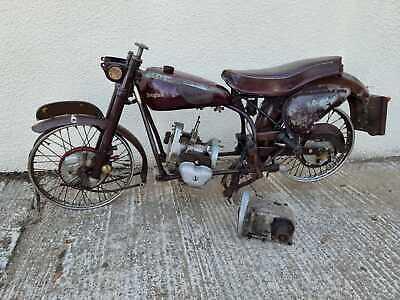 Vintage Douglas 80 Plus Mk4 Mk5 Project Motorcycle Barn Find Motorbike 1951