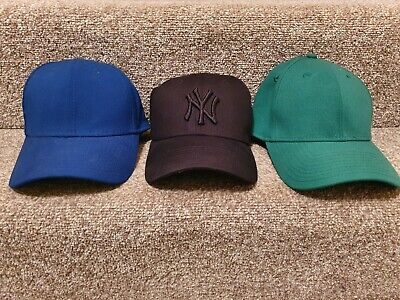 3 New Era 39THIRTY Caps