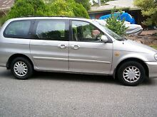 2000 Kia Carnival Wagon -5 speed, 7 seater **$850** Guyra Area Preview