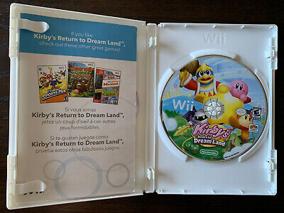 Kirby's Return to Dream Land (Nintendo Wii) No Manual VG Condition Fast Ship!