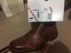 Rieker brown leather shoes