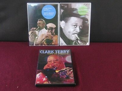 (DVD'S MUSIC JAZZ  CLARK TERRY IN GREAT SHAPE MULTIPLE DVD,S  44 SONGS)
