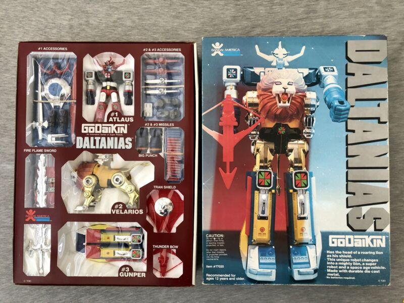 GoDaikin DALTANIAS - Popy / Bandai - Metal Lion Robot Figure - 99% Complete 🤖