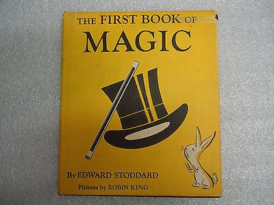 VTG Vintage 1st Book of Magic by Edward Stoddard