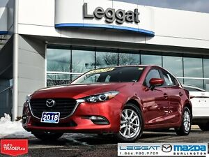 2018 Mazda Mazda3 Sport GS -AUTOMATIC, HEATED SEATS AND STEERING