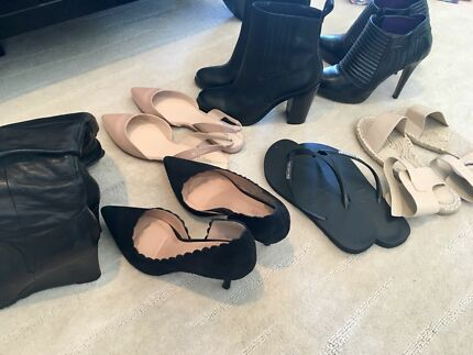 Wanted: Shoes for sale, excellent condition 50% not even worn, must take all