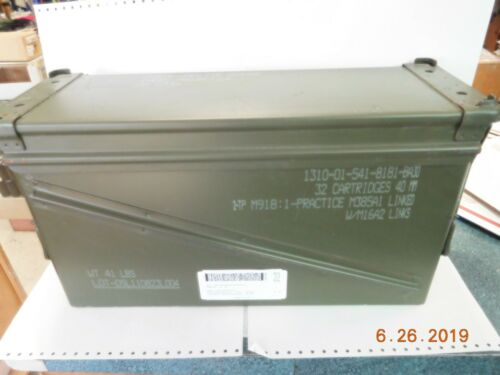 US Military Surplus 20mm M548 Large Ammo Can