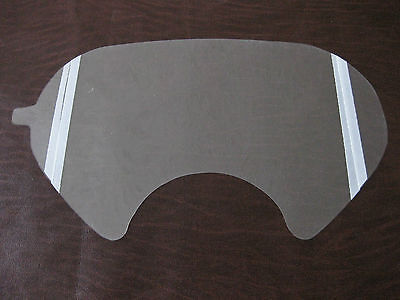 RESPIRATOR LENS COVER 3M 6885 - 6000 SERIES COMPATIBLE HIGH QUALITY USA MADE on Rummage