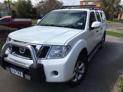 2012 Nissan Navara ST Manual Ute Delacombe Ballarat City Preview
