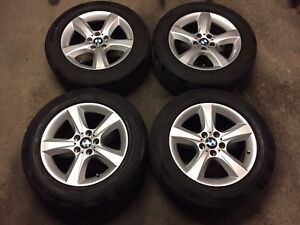 """2013 BMW X5 OEM 18"""" Rims and Tires"""