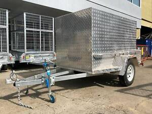 𝗦𝗔𝗟𝗘 - 8x5 7x5 7x4 6x4 New Fully Enclosed Luggage Trailer Coopers Plains Brisbane South West Preview