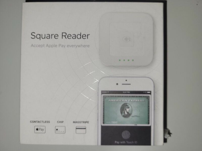 New Square Contactless Credit Card, Chip Reader, and Magstripe reader bundle
