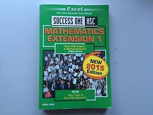 Maths Extension 1 - Excel Success One Shortland Newcastle Area Preview