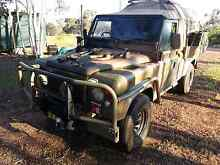 Ex Army Landrover 110 Series Perentie 4x4 RFSV 6/1991 Model. Bywong Queanbeyan Area Preview