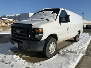 2012 Ford E-250 Extended Cab Cargo Van