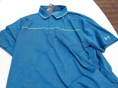NWT Under Armour pocket polo, loose fit, heat gear, men
