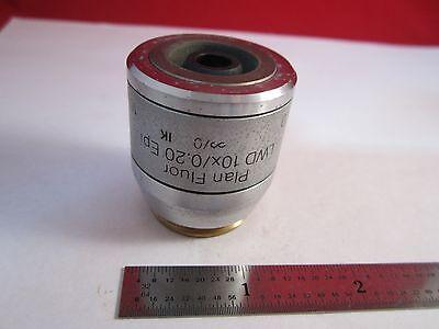 Microscope Objective Reichert Fluor Dic 10 Polycon Epi Infinity Optics B11-dt-h