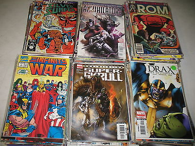 Lot of 51 DIFFERENT ALL SPACE Comic Thanos Guardians Galaxy Surfer Grab Bag